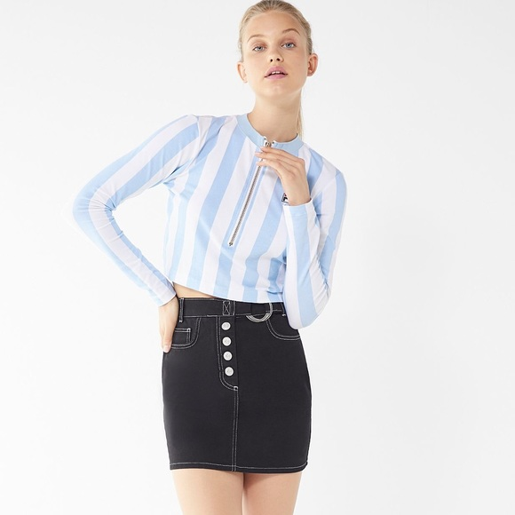 b62fc4ea5dfb Urban Outfitters Tops | New Fila X Pierre Cardin Cropped Long Sleeve ...